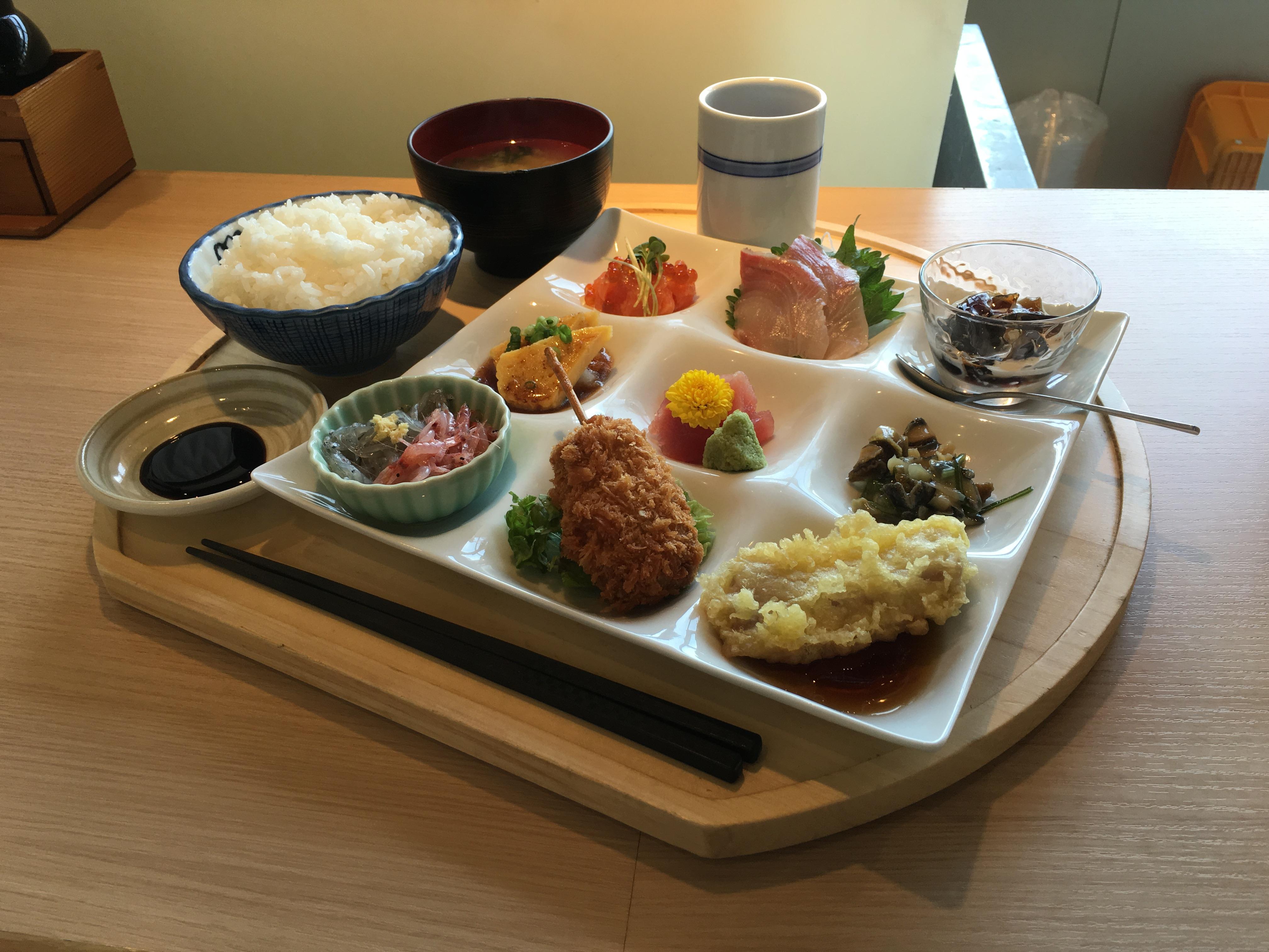 千漁家特選日替わり定食
